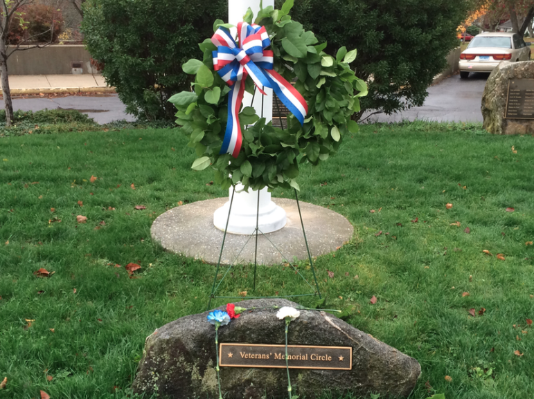 Veterans Day wreath