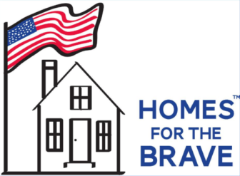 Homes for the Brave logo not very wide
