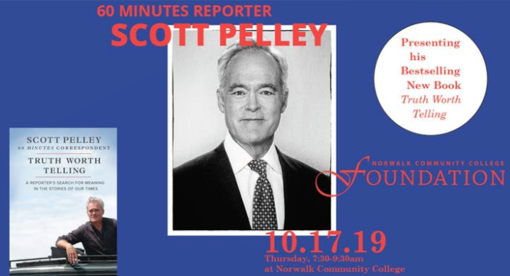 Scott Pelley speaks on A Truth Worth Telling
