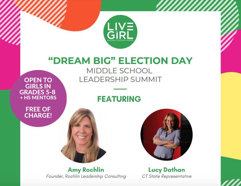 Live Girl election summit poster top Nov 2019