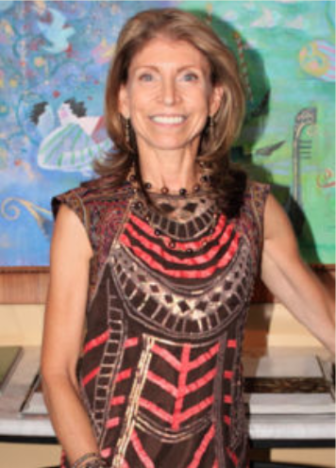Carla Gambescia at Darien Men's Association