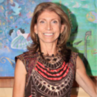Carla Gambescia speaks Nov 6 2019 at Darien Men's Association