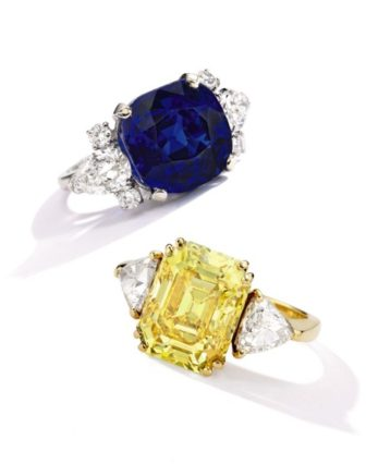 Sotheby's rings