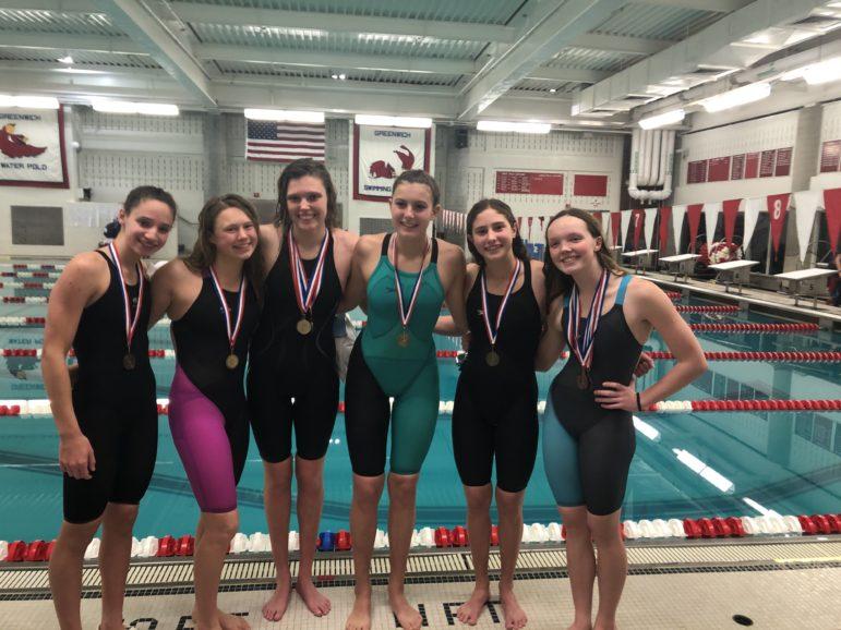 Darien six swimmers on all-FCIAC team 2019
