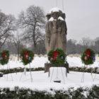 Spring Grove Veterans Cemetery Winter