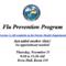 Flu Clinic November 2019