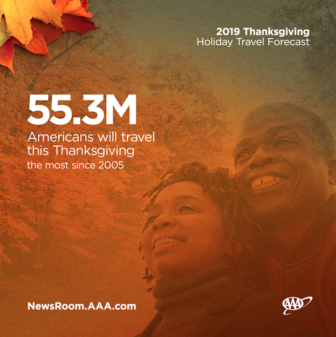 Traveling Thanksgiving 2019 AAA