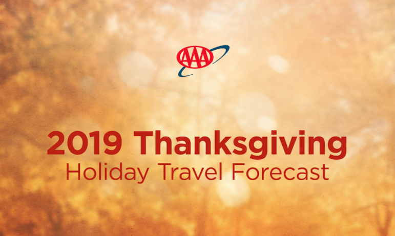 Holiday Travel Forecast AAA Thanksgiving 2019