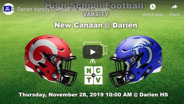DAF Image upcoming Turkey Bowl coverage on YouTube