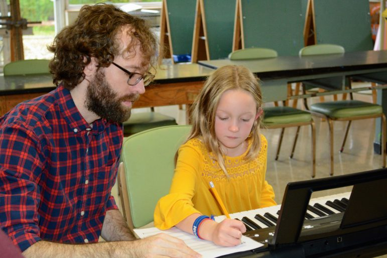 DAC music instructor Dan Saulpaugh