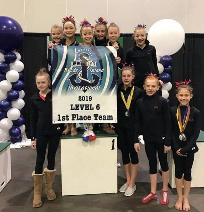 Gymnasts Darien YMCA Rhode Island 2019