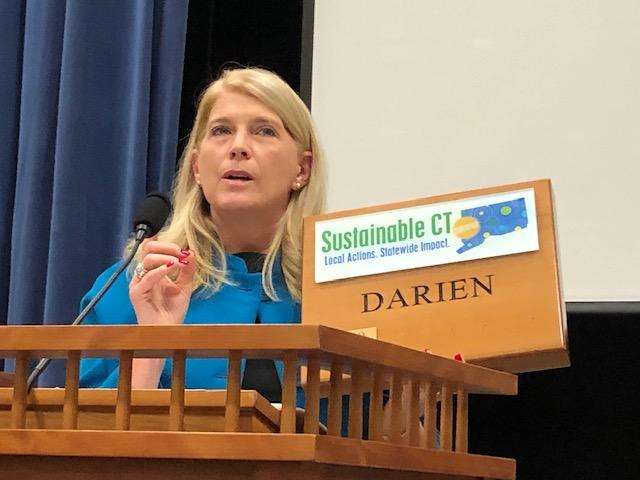 Stevenson sustainability plaque 2019