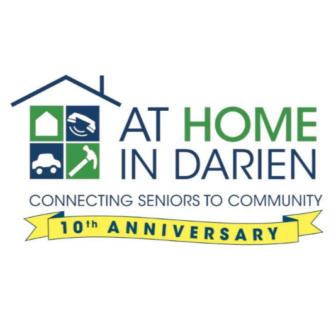 At Home In Darien logo 2019