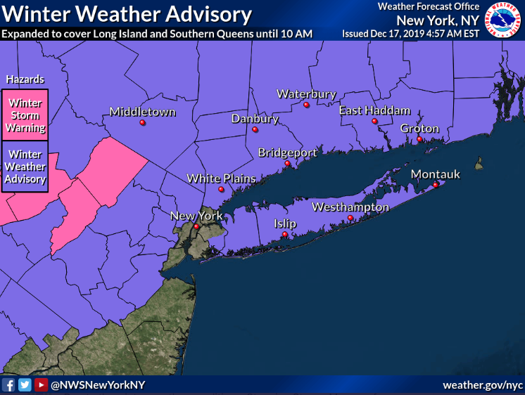 Winter Weather Advisory 2019