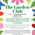 The Garden Club Jan March 2020 poster wide