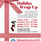 Depot Holiday Wrap-Up poster 2019
