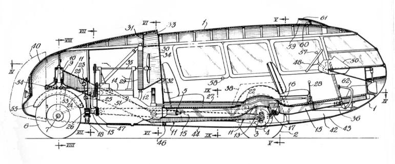 Dymaxion Car patent image 2