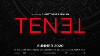 Tenet logo Christopher Nolan film 2019 2020