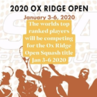 Ox Ridge Riding and Racquet Club Ox Ridge Open 2020