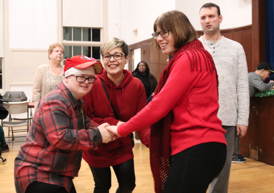 holiday dance for Abilis. Dec. 18, 2019 photo by Leslie Yager