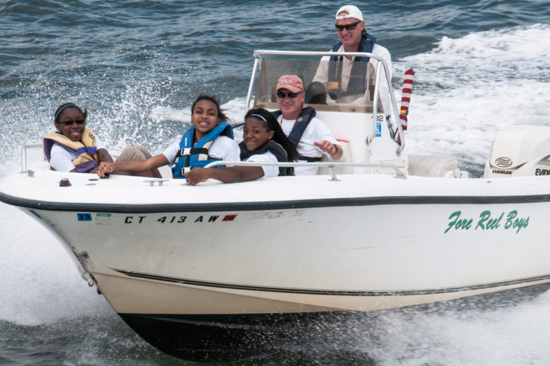 Boating Course Students