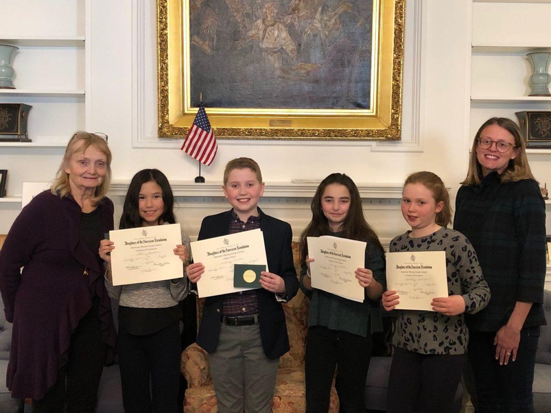 DAR Essay Contest winners 2020