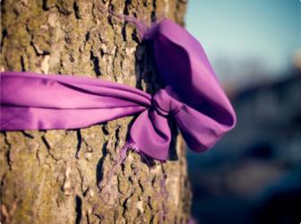 Purple Ribbon Darien Domestic Abuse Council Domestic Violence