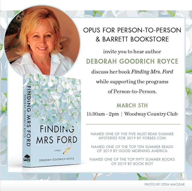 Opus poster Deborah Goodrich Royce opus spring luncheon
