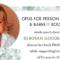 Deborah Goodrich Royce at Opus luncheon top of poster horizontal for Facebook