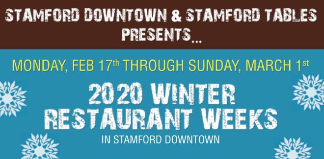 Stamford 2020 Restaurant Week