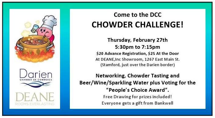 Darien Chamber Chowder Challenge wide for Facebook