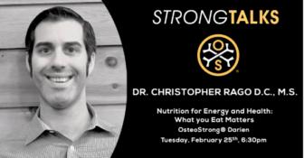 Chris Rago talk nutrition health Osteostrong Feb 2020