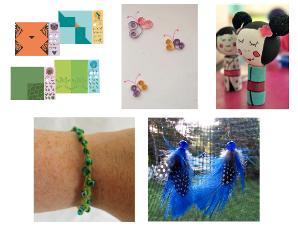 TEA Room craft projects now Darien Library