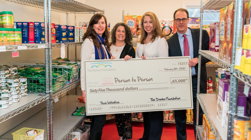 Darien Foundation gives P2P $65K for tech