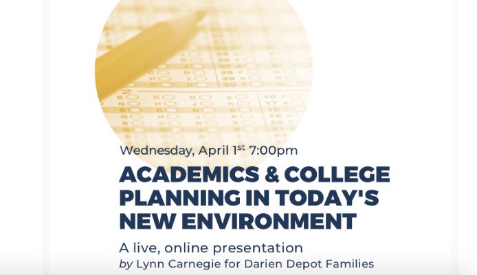 Webinar College Planning April 1 2020