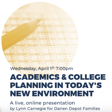Webinar college planning April 1 2020 square