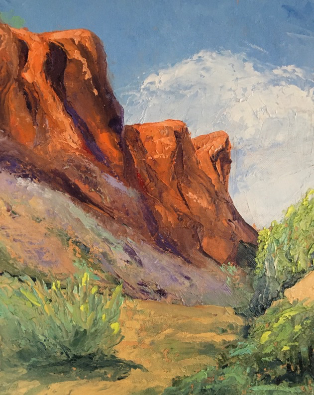 Online Paint and Sip Southwestern Landscapes Susan Fehlinger RAC