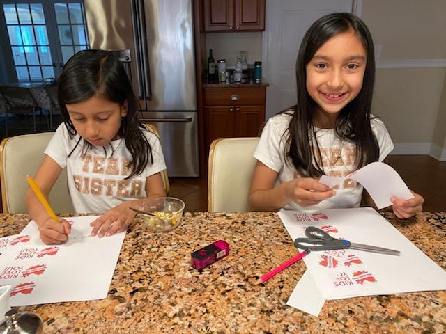 India Cultural Center kids contribute COVID-19