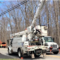 Eversource trucks utility storm electricity