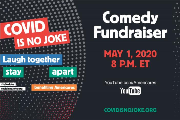 COVID-19 2020 Comedy Fundraiser COVID Is No Joke