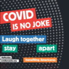 Covid is No Joke fundraiser square thumbnail