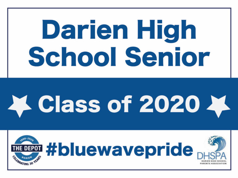 DHSPA Senior Sendoff 2020 sign