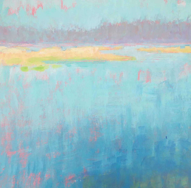 Dana Goodfellow Aqua Water Art