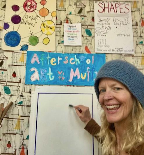 Instructor Muffy Pendergast Rowayton Arts Center class 2020