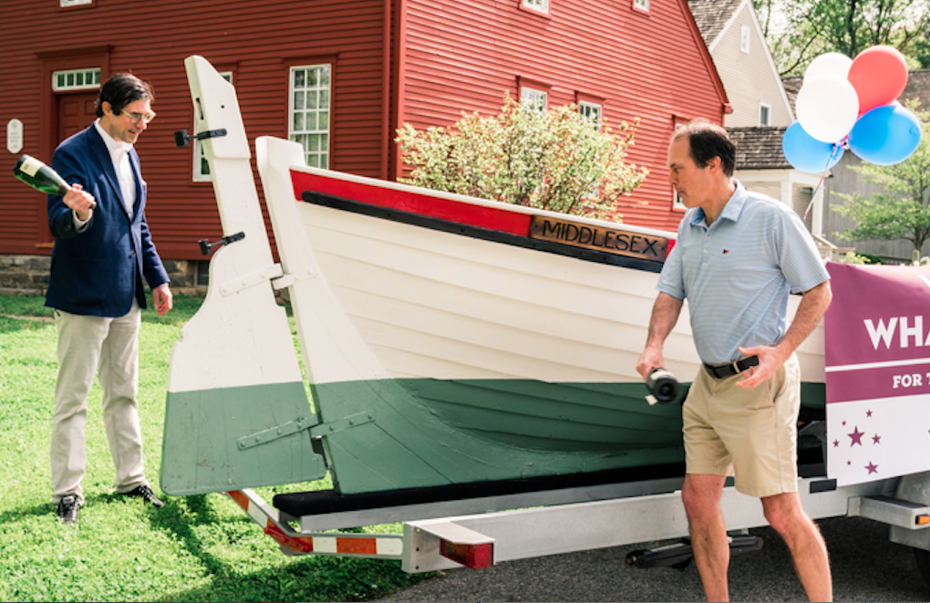 Whaleboat Middlesex rechristening
