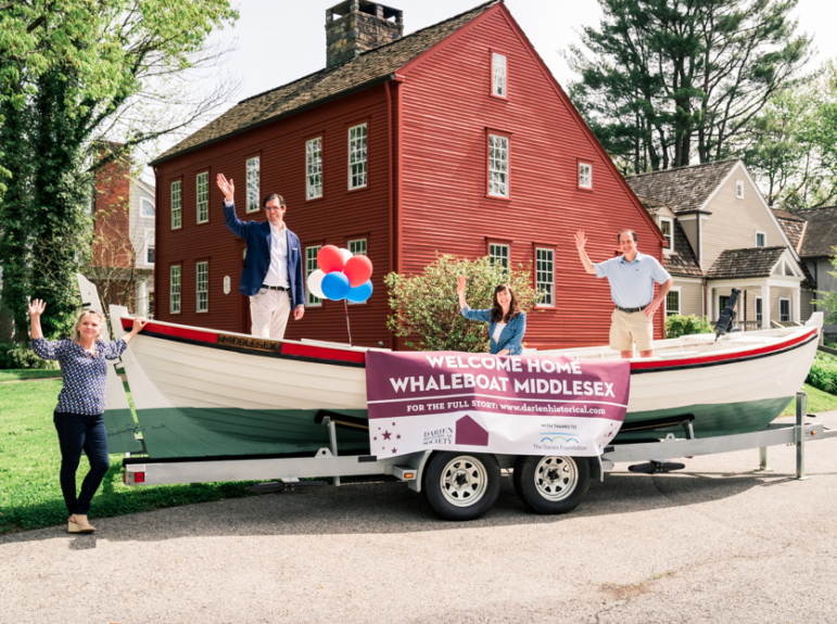Unveiling Whaleboat Middlesex