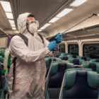 Metro-North train railroad cleaning COVID-19 2020 Coronavirus 2020