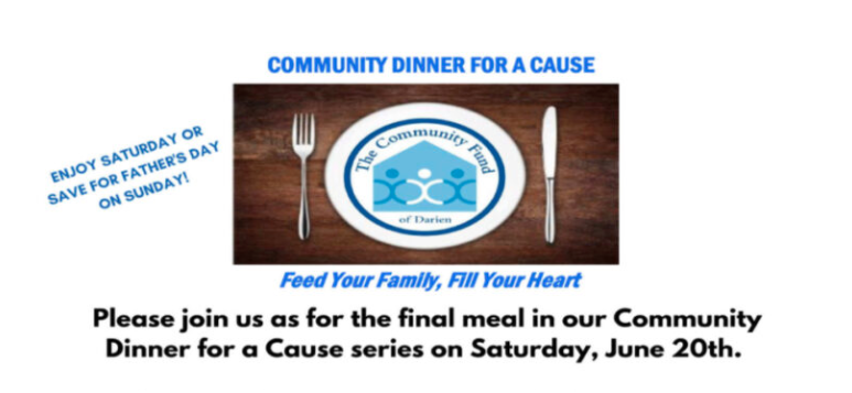 Community Dinner for a Cause wide Facebook