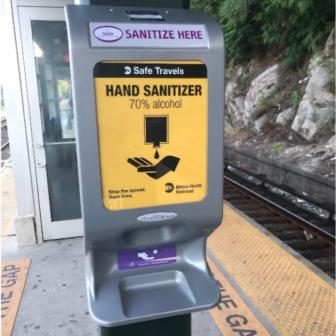 Hand Sanitizer statioon