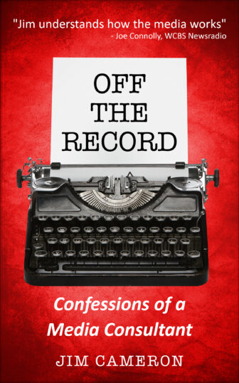 Off the Record Book Cover by Jim Cameron